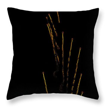 Night Warfare Throw Pillow