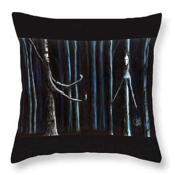 Nightfall Secret Throw Pillow
