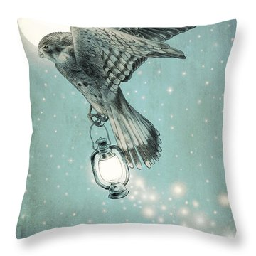 Nighthawk Throw Pillow