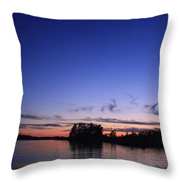 Nightly Cruise Throw Pillow