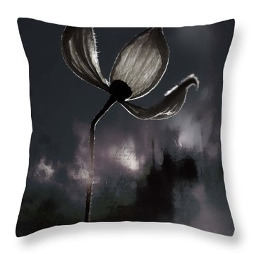 Nights I Wrote  Throw Pillow by Jerry Cordeiro