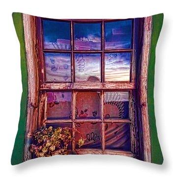 Nightscape La Palma-1 Throw Pillow