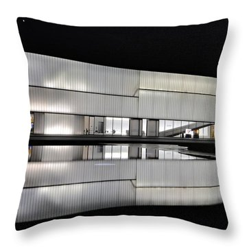 Nighttime Reflections Throw Pillow