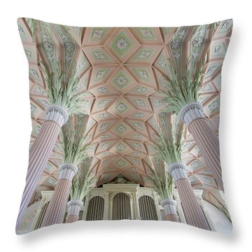 Nikolaikirche Leipzig Throw Pillow