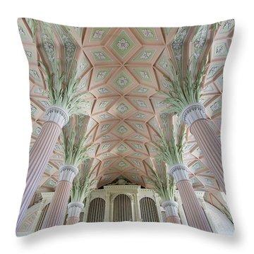 Nikolaikirche Leipzig Throw Pillow