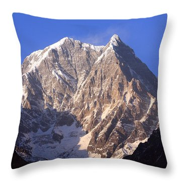 Nilgiri South 6839m Throw Pillow