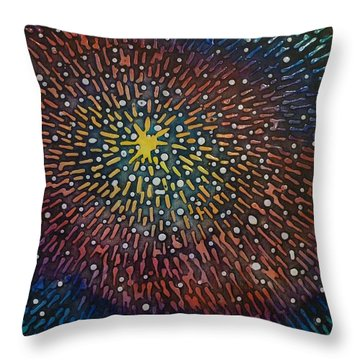 Nimoy Nebula Throw Pillow