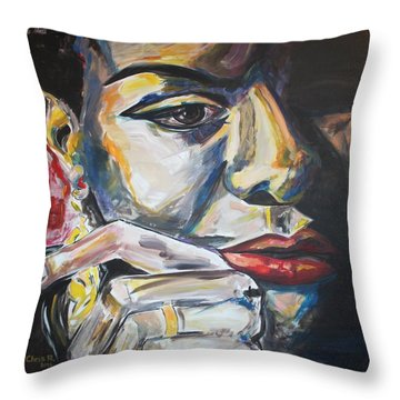 Nina More And Then Some Throw Pillow