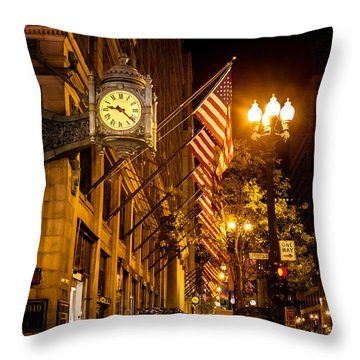 Nine Twenty Two In Chicago And All Is Well Throw Pillow
