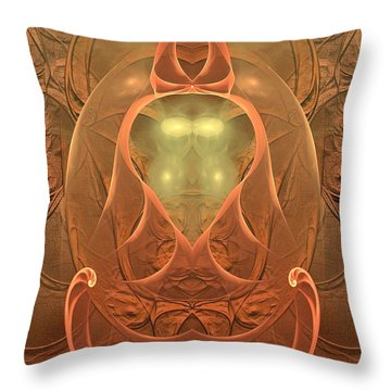Nirvana Throw Pillow
