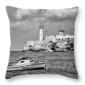 Nisita In Havana Bay Throw Pillow