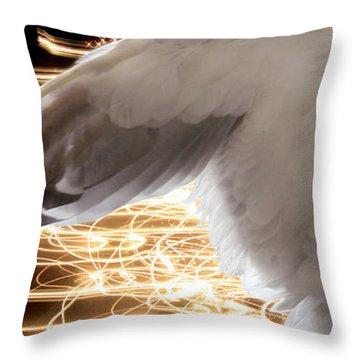 Nissrine An Angels Radiance Throw Pillow