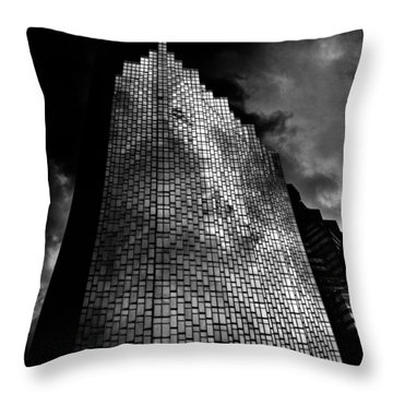 No 200 Bay St Rbp South Tower Toronto Canada Throw Pillow
