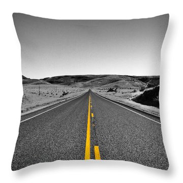 No Country For Old Men II Throw Pillow