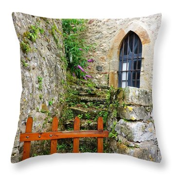No Entry Throw Pillow