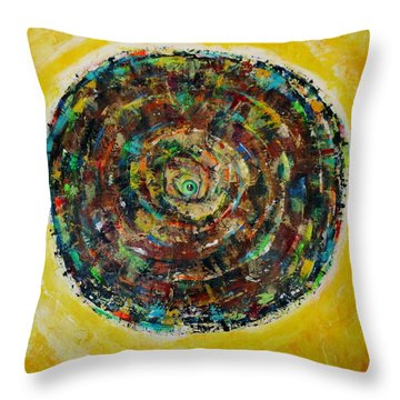 No Eye Has Seen Throw Pillow by Jean Cormier