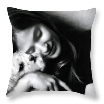No Greater Love Throw Pillow by Madeline Ellis