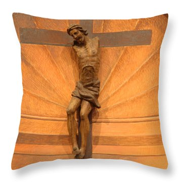 No Hands But Yours Throw Pillow