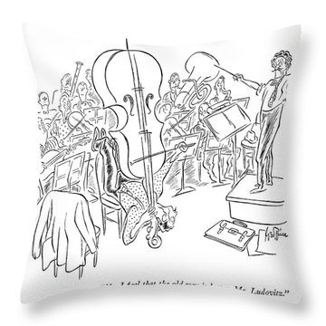 No, I Feel That The Old Way Is Better, Mr Throw Pillow