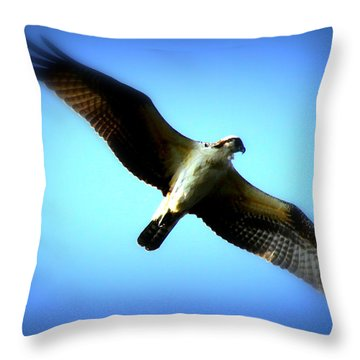 Throw Pillow featuring the photograph No Limits by Aurelio Zucco