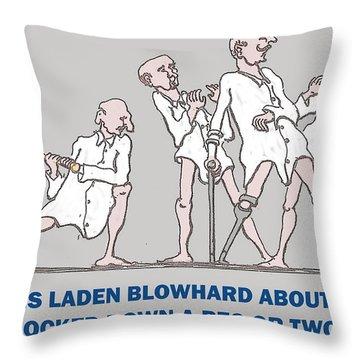 No Mercy Throw Pillow