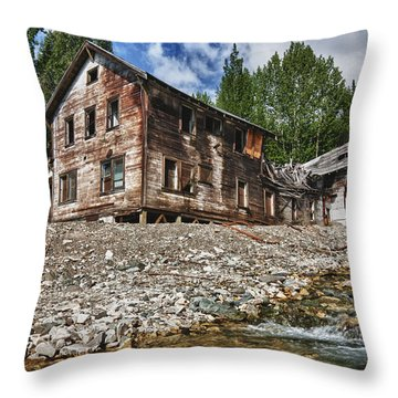 No More Band-aids Throw Pillow