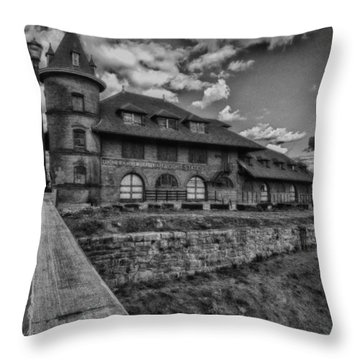 No More Stops Throw Pillow