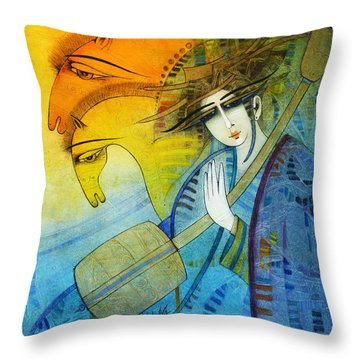 No One Can Stop My Dream Horses... Throw Pillow