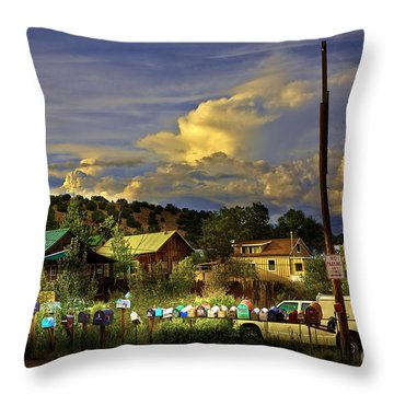 No Parking Anytime I Throw Pillow by Madeline Ellis