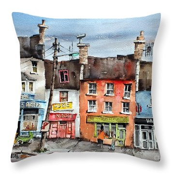 Clare  No Parking In Ireland Throw Pillow
