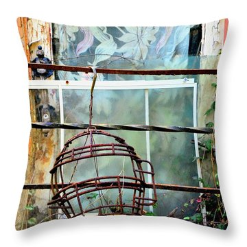 No Telling Throw Pillow by Newel Hunter