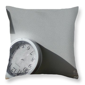 Throw Pillow featuring the photograph No Time by Lyric Lucas