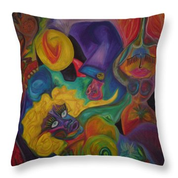 No Titel Throw Pillow