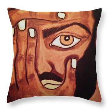 No Way Throw Pillow by Chrissy  Pena