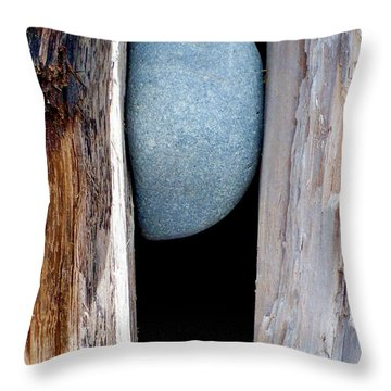 Throw Pillow featuring the photograph No Way Out by Newel Hunter