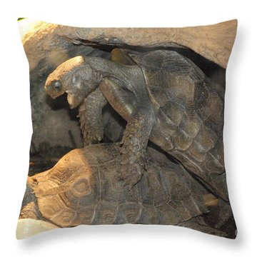 No Words Needed Throw Pillow