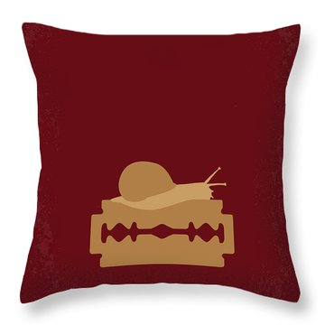 No006 My Apocalypse Now Minimal Movie Poster Throw Pillow by Chungkong Art