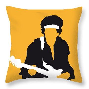 Guitars Throw Pillows