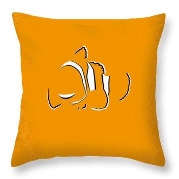 No054 My Nemo Minimal Movie Poster Throw Pillow