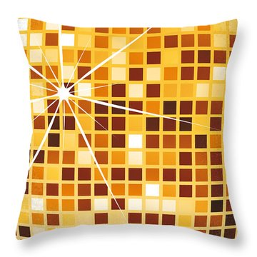 No074 My Saturday Night Fever Minimal Movie Poster Throw Pillow