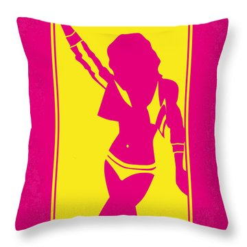 No106 My Weird Science Minimal Movie Poster Throw Pillow by Chungkong Art