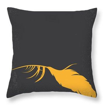 No110 My Birds Movie Poster Throw Pillow
