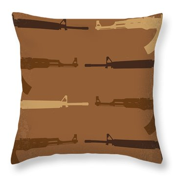 No115 My Platoon Minimal Movie Poster Throw Pillow by Chungkong Art