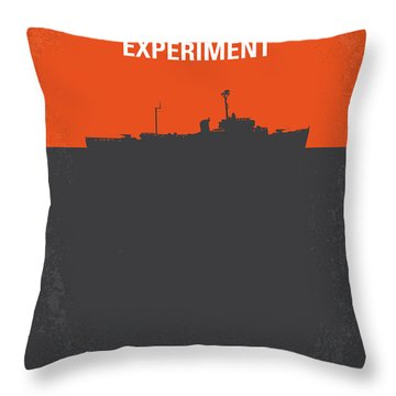 No126 My The Philadelphia Experiment Minimal Movie Poster Throw Pillow by Chungkong Art