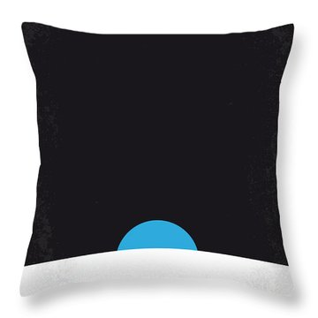 No151 My Apollo 13 Minimal Movie Poster Throw Pillow