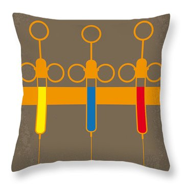 No165 My Planet Terror Minimal Movie Poster Throw Pillow by Chungkong Art
