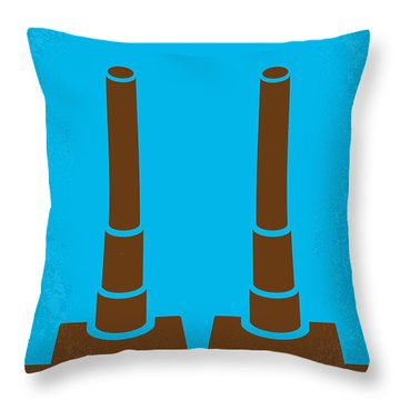 No168 My The Guns Of Navarone Minimal Movie Poster Throw Pillow by Chungkong Art