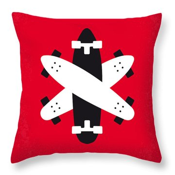 No188 My The Lords Of Dogtown Minimal Movie Poster Throw Pillow