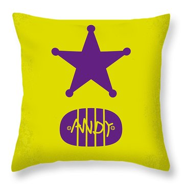 No190 My Toy Story Minimal Movie Poster Throw Pillow