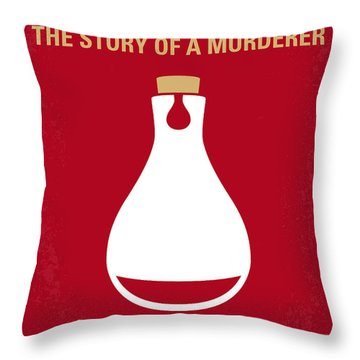 No194 My Perfume The Story Of A Murderer Minimal Movie Poster Throw Pillow